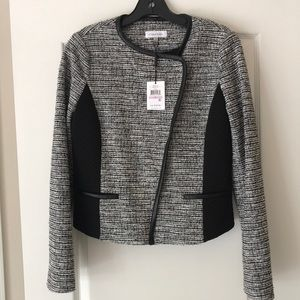 New With Tag Calvin Klein Twee Jacket Size 6